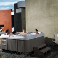 Premium Pool & Spa | J460 2 couples & contemporary outdoor patio