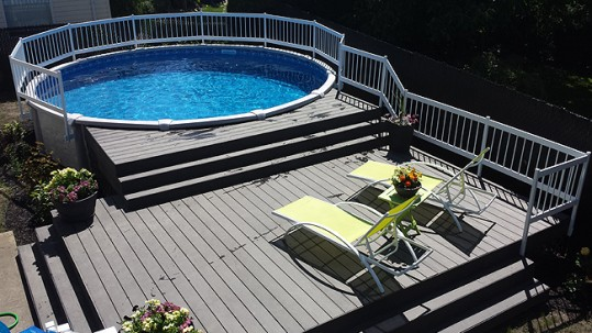 Check Out The Above Ground Pools Available Now At Premium Pool And Spa
