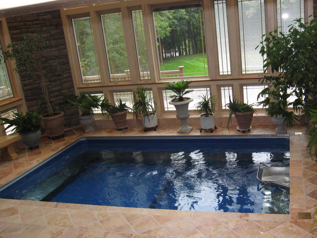High performance endless pools swim spa for Greenhouse over swimming pool