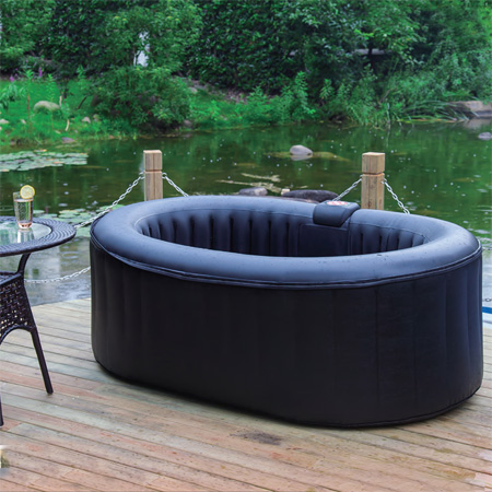 Inflatable Oval Pvc Hot Tub Seats 2