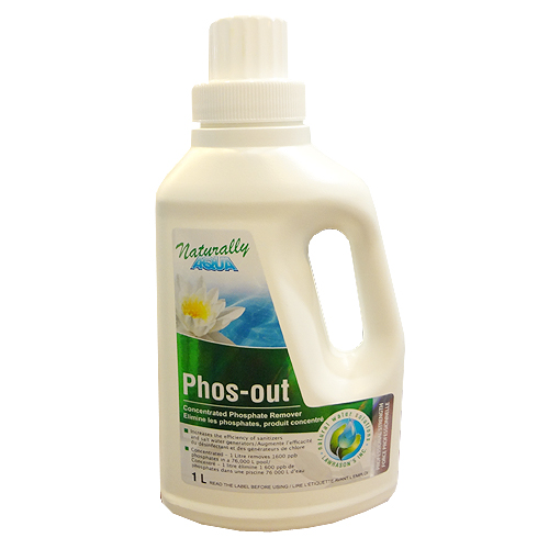 Phos out concentrated phosphate remover for pools 1l - Phosphate treatment for swimming pools ...